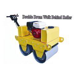 Double Drum Walk Behind Roller