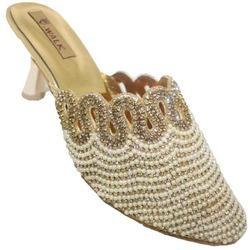 Ladies Heel Bridal Wear Sandals 0691