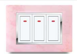 Barbie Pink Electrical Switch