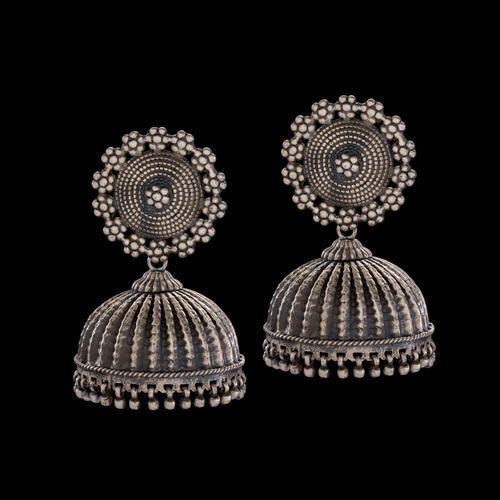 Plain Silver Earring