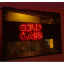 Backlit Brass Letter Sign Board
