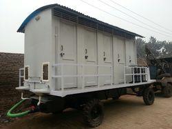10 Seater Mobile Toilet