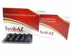 Multivitamin Multimineral and Antioxident Capsules