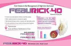 Feburick-40 Uric Acid