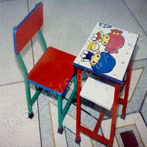 Single Desk with Chair