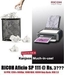 Printer - Richo Aficio Sp 111