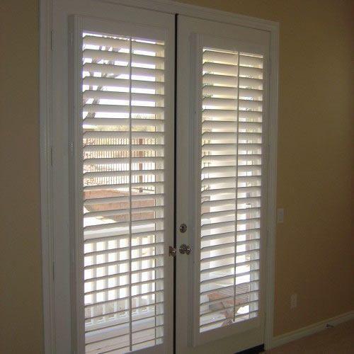 wood door blinds wood door blinds e weup co