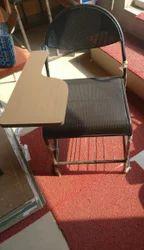 Black Steel Writing Chairs