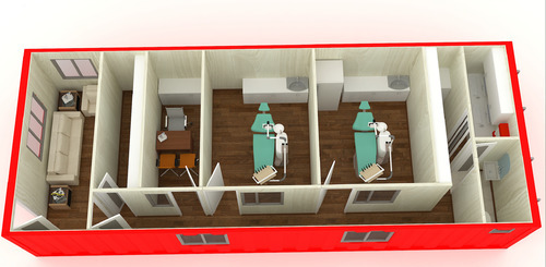 Container Medical Clinic Container Dental Clinic