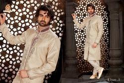 Heavy Designer Sherwani with Churidar