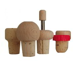 T-Shape Cork Stopper