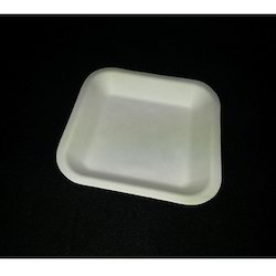 "Biodegradable  5.5"" Sq Plate"