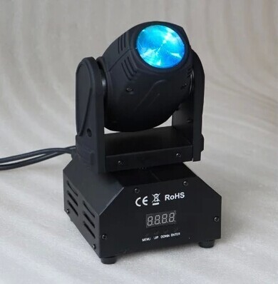 Moving Heads Jia J340 10w Led Small Size Moving Head