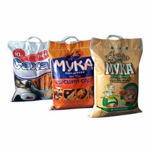 HDPE & BOPP Handle Bags