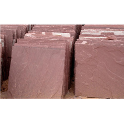Red Chocolate Sandstone Tiles, Slabs