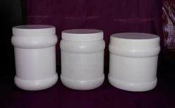 Ribbed HDPE Jar