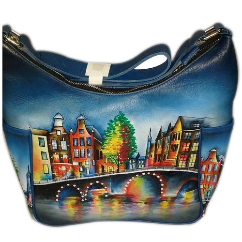 Hand Painted Leather Handbags - Hand Painted Leather Bags Wholesale ... 00a85100bcb4a