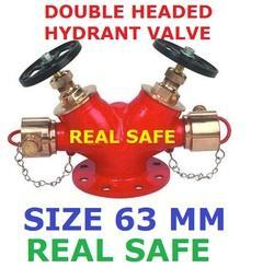 Double Headed Hydrant Vlalve