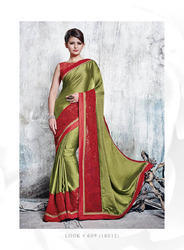 Soft Net Fashion Designer Partywear Sarees