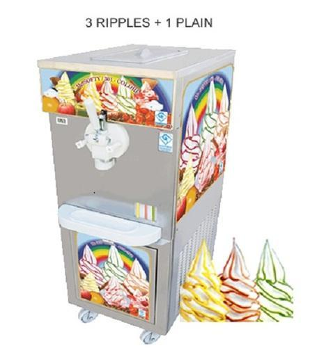 Softy Color Ice Cream Making Machine