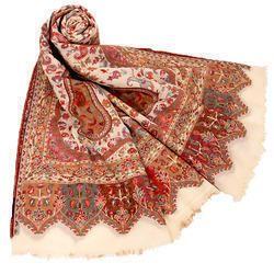 Jamawar Wool Silk Shawls