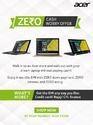 Acer Zero Cash Worry Offer