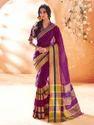 Modern Handloom Cotton Silk Saree