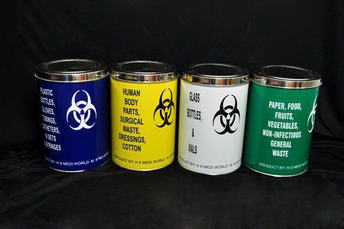 SS Bio Medical Waste Dustbin