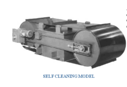Self Cleaning Electromagnetic Separator