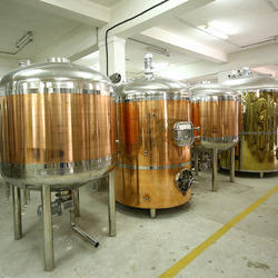 Microbrewery Equipment - Copper Brew House