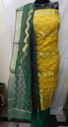 Aaditri Trendy Banarasi Silk Suit