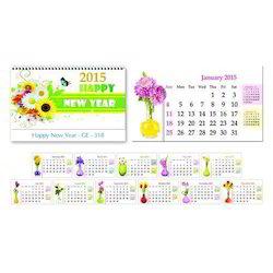New Year Table Calendar