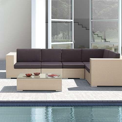 Garden Wicker Sofa Set   All Weather Wicker Patio Furniture Manufacturer  From New Delhi