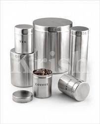 Stainless Steel Bread Bin Set