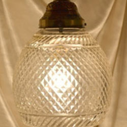Crystal Glass Hanging Lamps