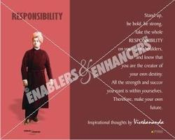 Posters On Vivekananda- Inspirational Thoughts