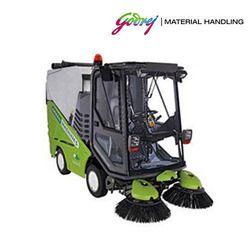Green Sweeping Machine