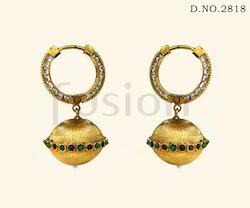 Traditional Designer Polki Earrings