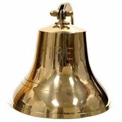 Brass Fire Bell