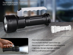 torch with handle 3 light modes