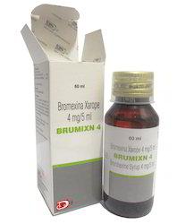 Bromohexine Syrup 4mg / 5ml BP
