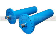 Double Acting Flange Mounting Hydraulic Cylinder