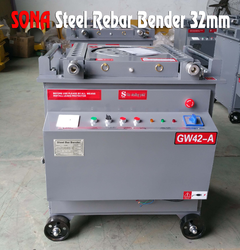 Steel Rebar Bender 32mm