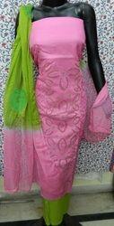 Aaditri Applique Cut Work Suit Material