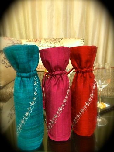 Embroidery Wine Bottle Covers