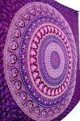 Indian Mandala Tapestry Bohemian Cotton Bed Sheet