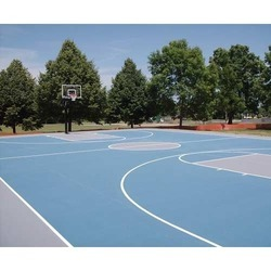 Synthetic Basketball Court