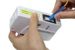 optical fiber connector reel cleaner cleaning cassette
