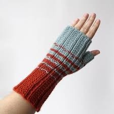 Colored Knitted Gloves