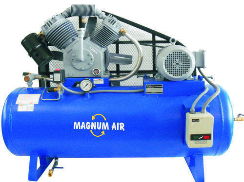 MAGNUM Two Stage Twin Cylinder Air Compressor: 3HP/3Phase